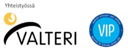 Valteri VIP-verkosto logot